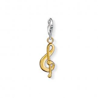 Charm Club Violin Clef Charm 0969-413-12