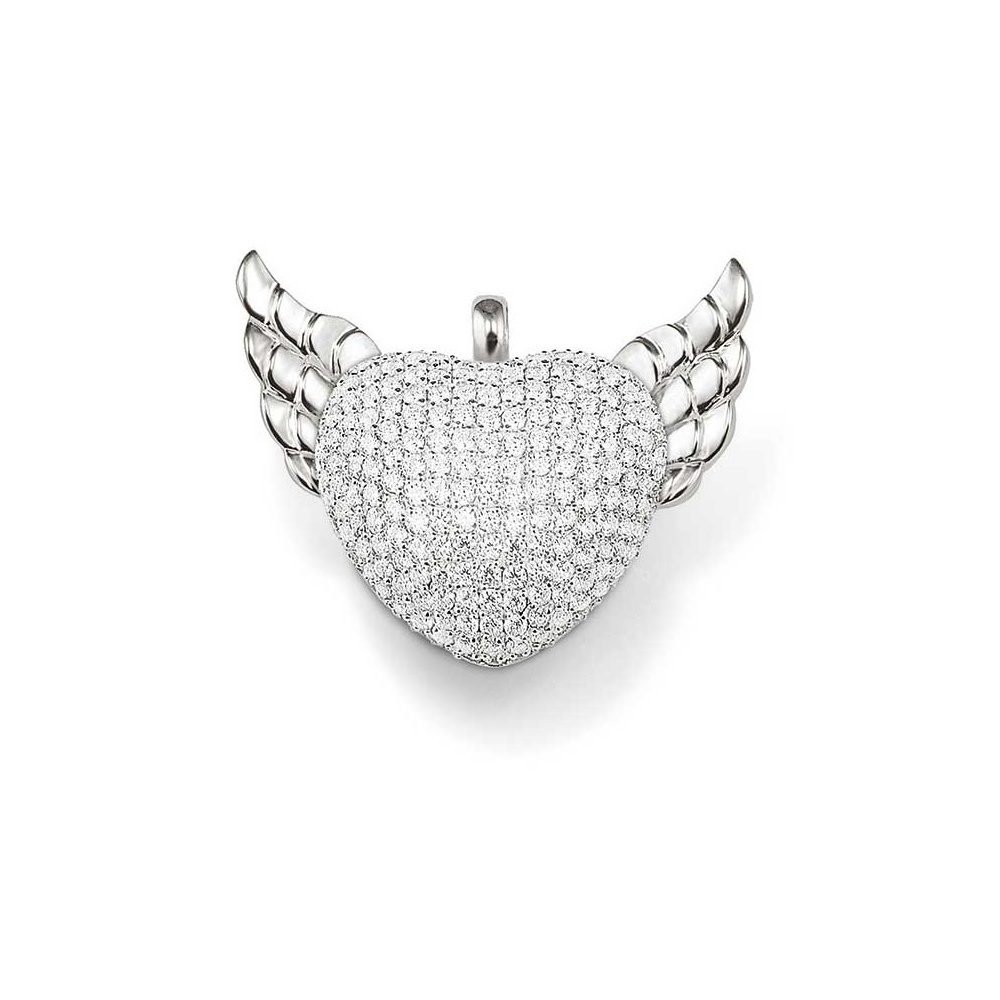 Thomas sabo winged heart rebel at heart pendant jewellery from winged heart rebel at heart pendant aloadofball Choice Image
