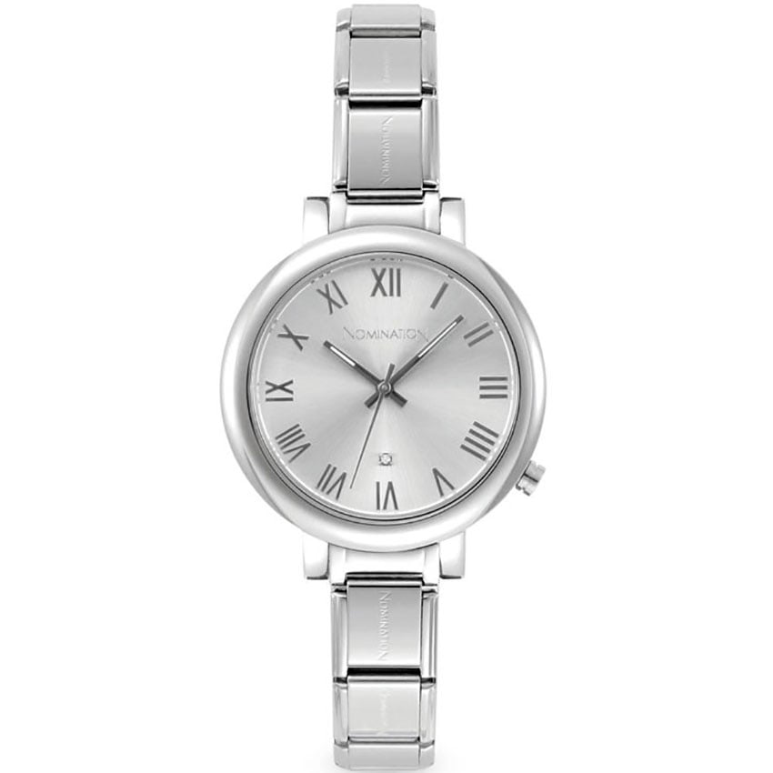 Nomination Time Paris Big Silver Ladies Watch 076011/017