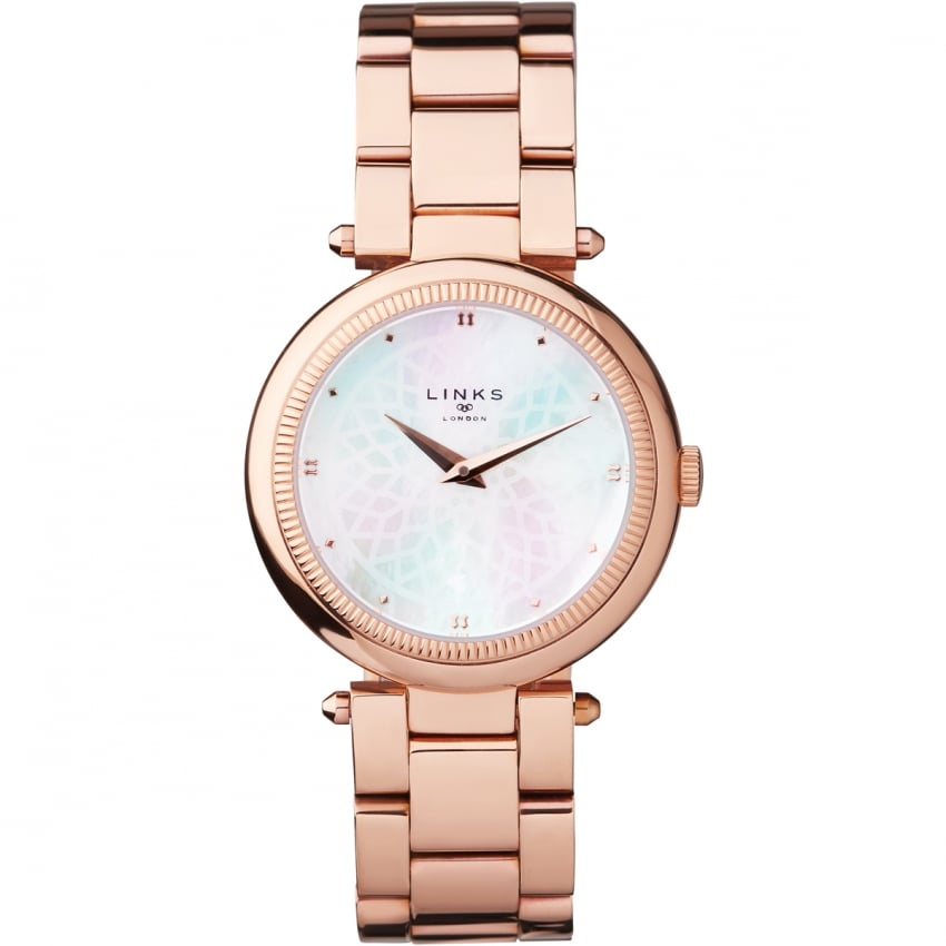 Links of London Timeless Ladies Rose Gold Bracelet Watch 6010.2221