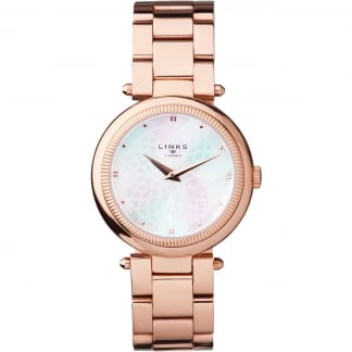 Timeless Ladies Rose Gold Bracelet Watch