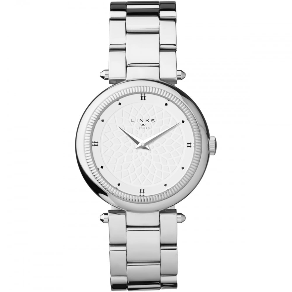 Links Of London Timeless Ladies Silver Bracelet Watch Watches From