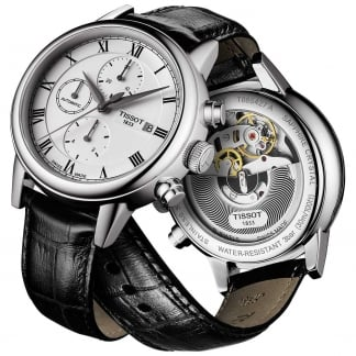 Gent's T-Classic Carson Automatic Chronograph Watch T085.427.16.013.00