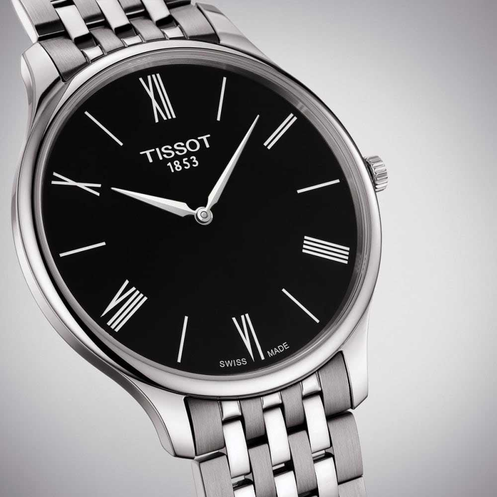 e348f955154 Tissot Gent s Tradition 39mm Black Dial Quartz Watch - Watches ...