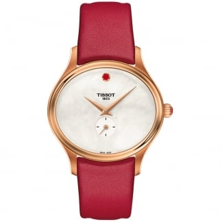 Ladies Bella Ora Valentine Red Rose Gold Watch T103.310.36.111.01