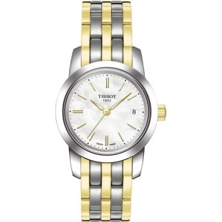 Ladies Classic Dream Two Tone Quartz Watch T033.210.22.111.00
