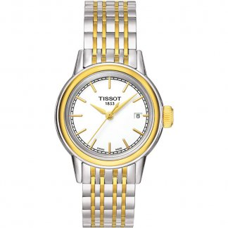 Ladies Classic Two Tone Carson Watch T085.210.22.011.00