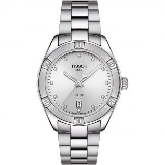 Ladies Diamond 36mm PR 100 Quartz Watch