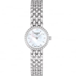 Ladies Diamond Set Mother of Pearl Lovely Watch T058.009.61.116.00