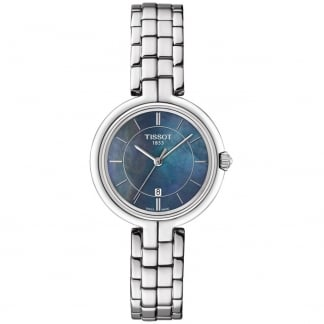 Ladies Flamingo Blue Mother of Pearl Quartz Watch