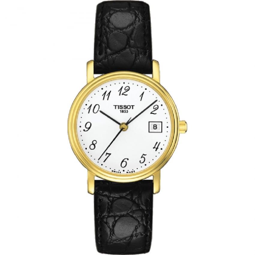 Tissot Ladies Gold Plated Desire Lady Quartz Watch T52.5.121.12
