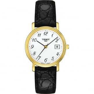 Ladies Gold Plated Desire Lady Quartz Watch T52.5.121.12