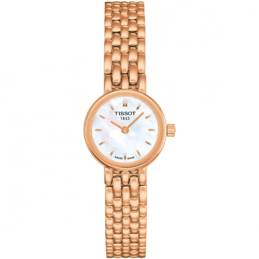 Tissot Ladies Mother of Pearl Rose Gold Lovely Watch T058.009.33.111.00
