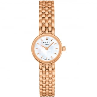 Ladies Mother of Pearl Rose Gold Lovely Watch T058.009.33.111.00