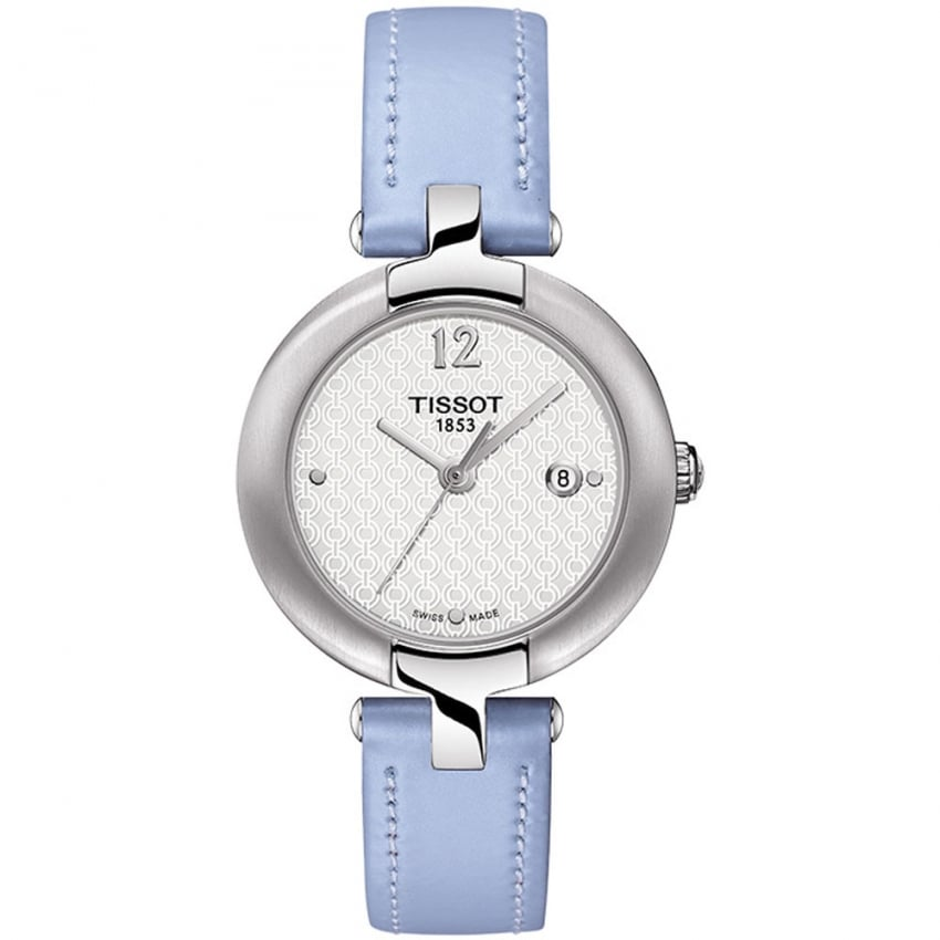 Tissot Ladies Powder Blue Leather Pinky Watch T084.210.16.017.02