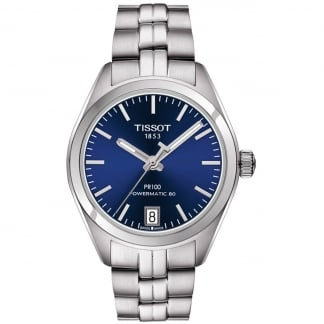 Ladies PR 100 Lady Automatic Blue Dial Watch T101.207.11.041.00