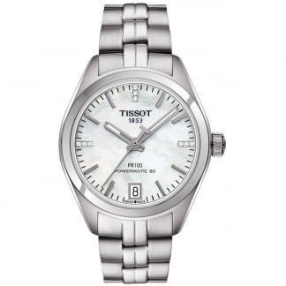 Ladies PR 100 Lady Automatic Watch With White Dial T101.207.11.116.00