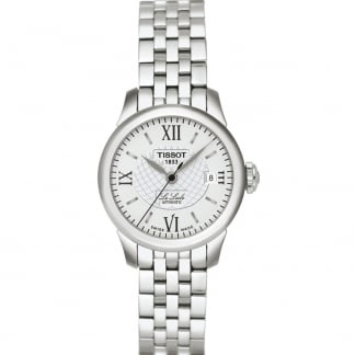 Ladies Silver Tone Le Locle Automatique Lady Watch T41.1.183.33