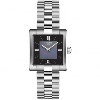 Ladies T02 Lady Black Mother of Pearl Watch