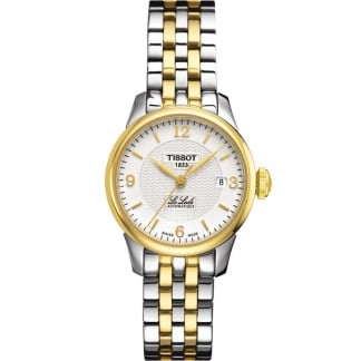Ladies Two Tone Le Locle Automatic Lady Watch T41.2.183.34