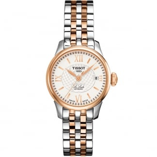 Le Locle Automatic Lady Steel & Rose Watch
