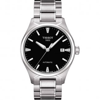 Men's Black Dial T-Tempo Automatic Watch