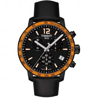 Men's Black PVD Quickster Chronograph Watch