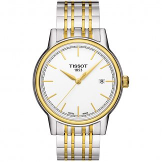 Men's Carson Two Tone Date Display Watch T085.410.22.011.00