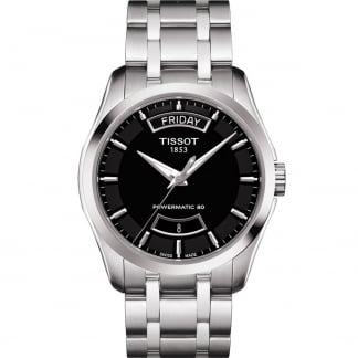 Men's Courturier Powermatic 80 Steel Automatic Watch