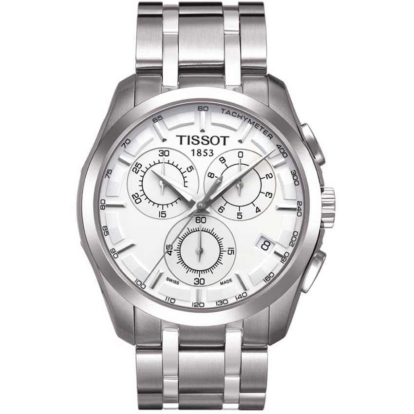 Tissot Men's Couturier Quartz Chronograph Watch T035.617.11.031.00