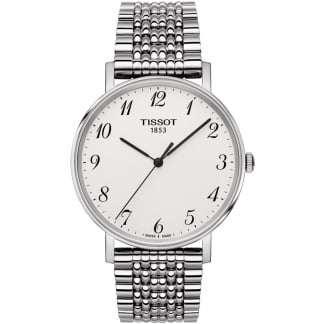 Men's Everytime Silver Tone Bracelet Watch T109.410.11.032.00