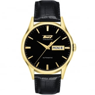 Men's Gold PVD Heritage Visodate Automatic Watch T019.430.36.051.01