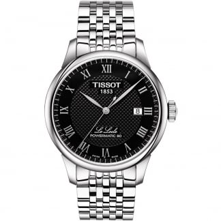 Men's Le Locle Black Dial Powermatic 80 Watch