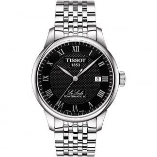 Men's Le Locle Powermatic 80 Black Dial Watch T006.407.11.053.00