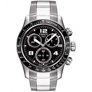 Men's Multifunction V8 Steel Bracelet Watch T039.417.11.057.02