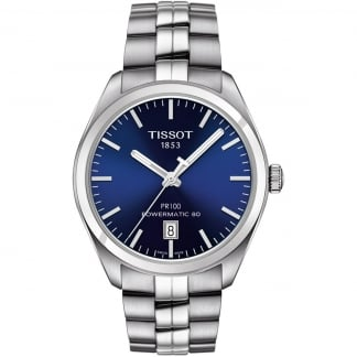 Men's PR 100 Automatic Blue Dial Bracelet Watch