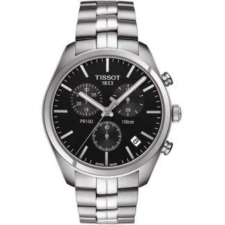 Men's PR 100 Chronograph Steel Bracelet Watch T101.417.11.051.00