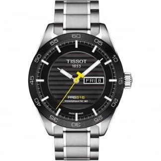 Men's PRS 516 Powermatic Steel Day-Date Watch T100.430.11.051.00