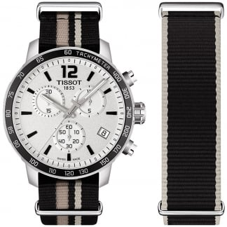 Men's Quickster NATO Strap Swiss Chronograph Watch