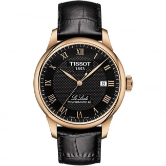 Men's Rose Gold Le Locle Powermatic 80 Watch