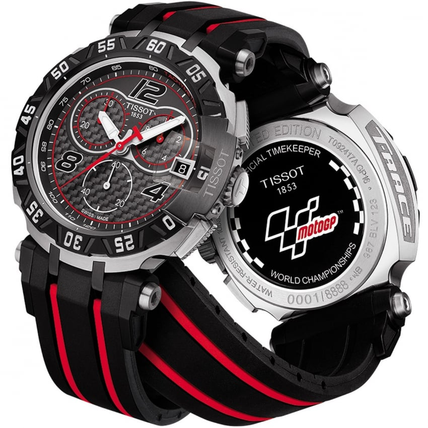 Tissot Men's T-RACE MOTOGP 2016 Quartz Chronograph Watch T092.417.27.207.00