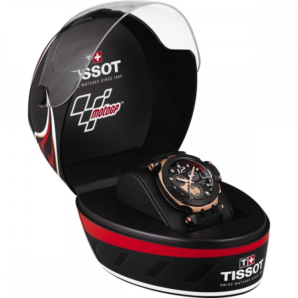 tissot men 39 s t race motogp 2019 limited edition quartz watch watches from francis gaye. Black Bedroom Furniture Sets. Home Design Ideas