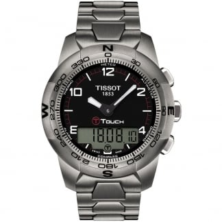 Men's T-Touch II Titanium Bracelet Watch T047.420.44.057.00