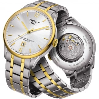 Men's Two Tone Chemin Des Tourelles Automatic Watch T099.407.22.037.00