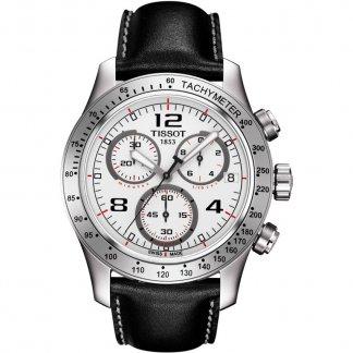 Men's V8 White Dial Chronograph Watch T039.417.16.037.02