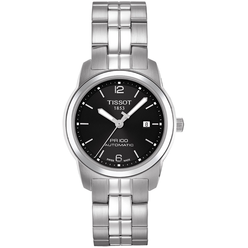 Tissot PR 100 Lady Automatic Black Dial Watch T049.307.11.057.00
