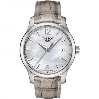 T-Classic Tradition Lady Mother of Pearl Watch