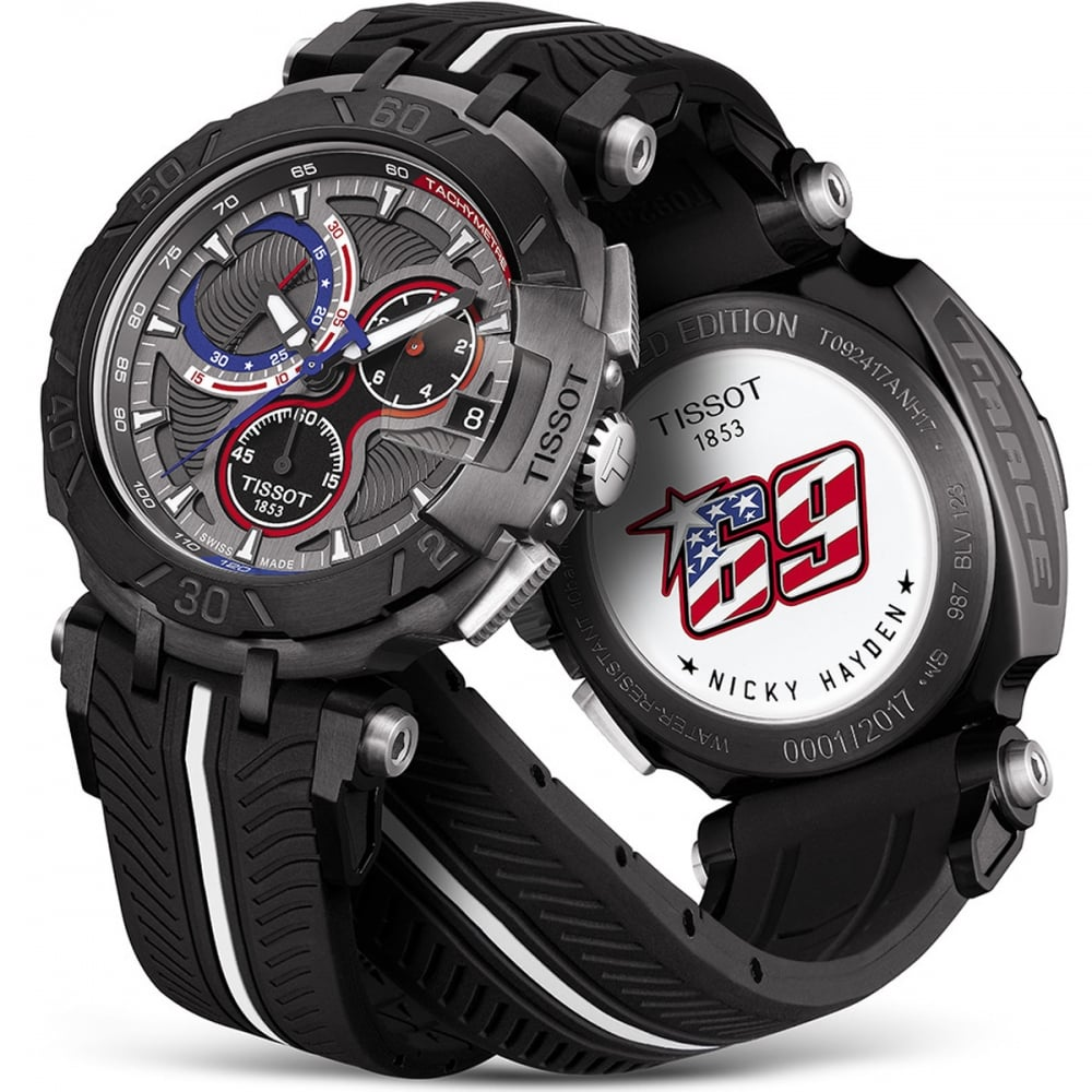 5cea9deb198 Tissot T-Race Nicky Hayden 2017 Limited Edition Watch - Watches from ...