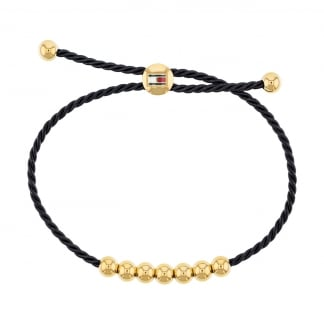 Black and Gold Frienship Bracelet