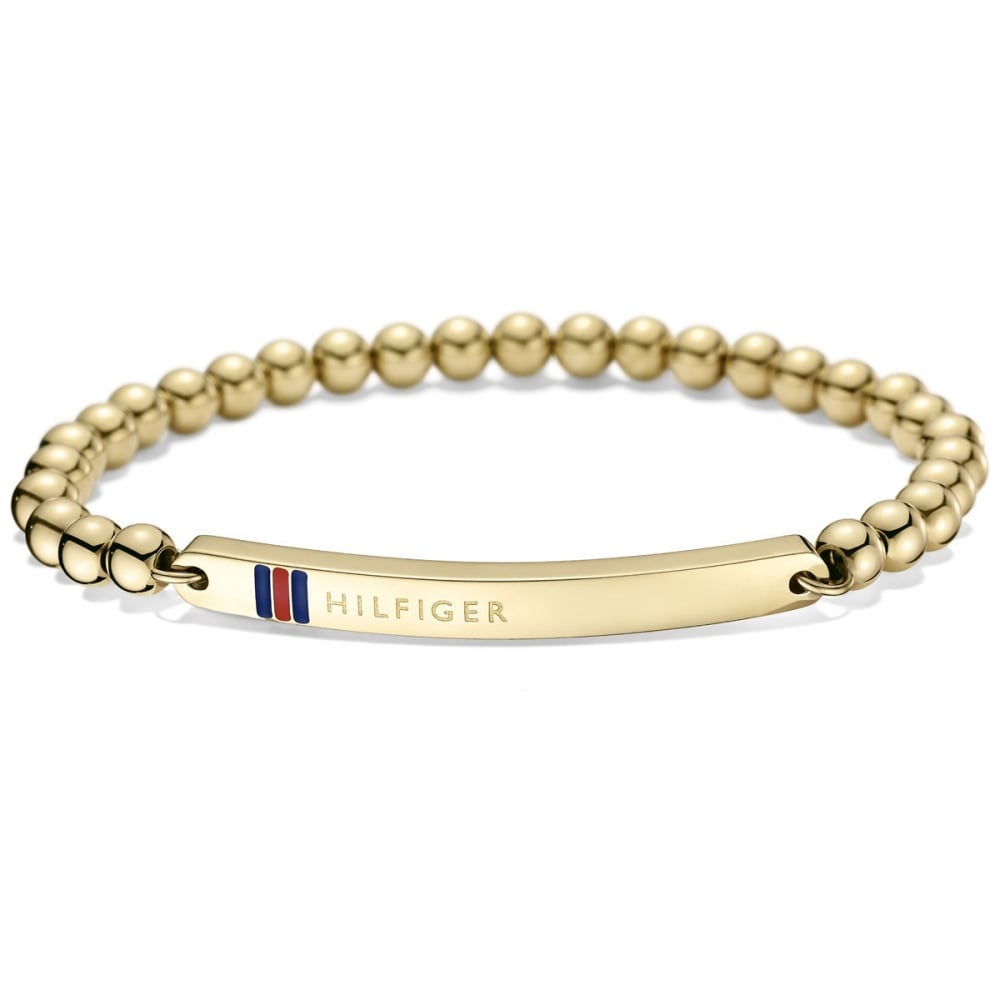 Gold-Plated Bangle - Sales Up to -50% Tommy Hilfiger kJU4A0